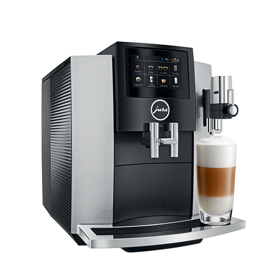 Jura S8 Moonlight Silver Automatic Coffee Center