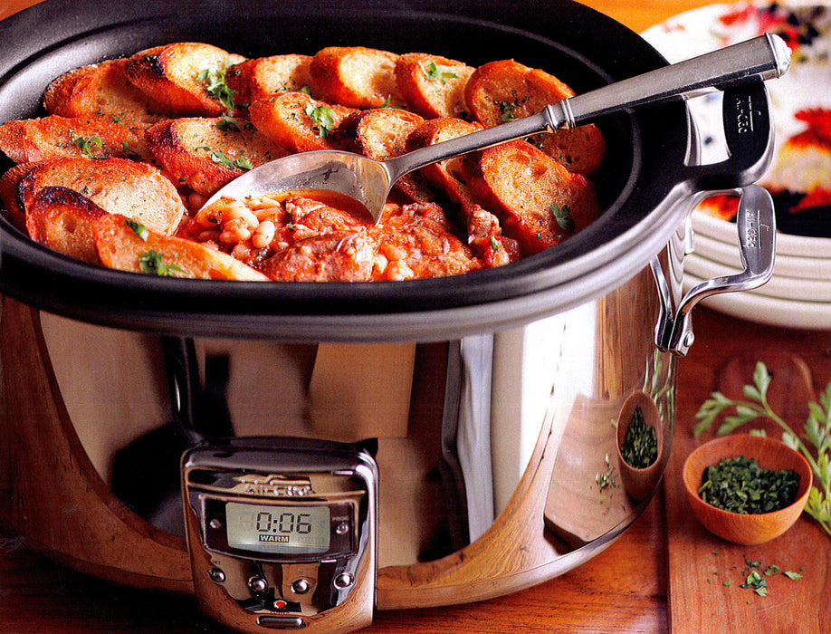 All Clad 7 Quart Deluxe Slow Cooker