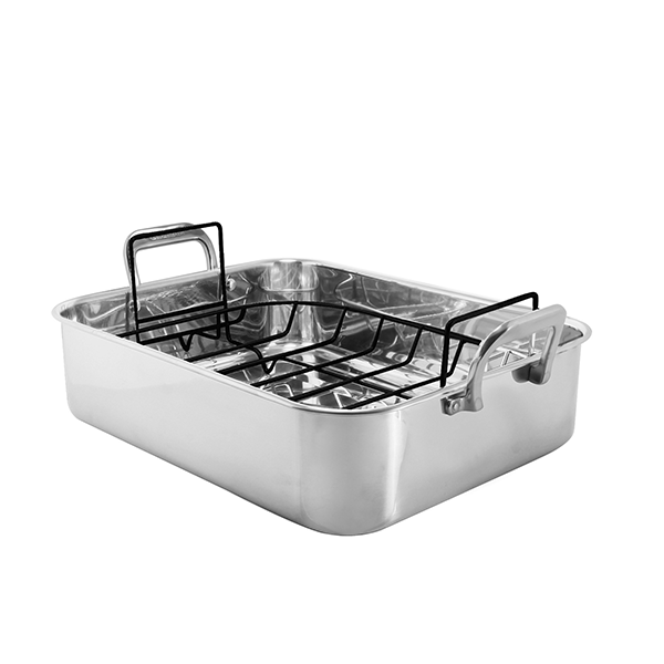 Chantal Stainless Steel Roasting Pan with Nonstick Rack