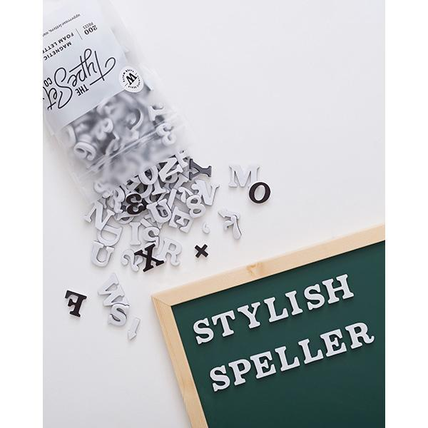 Soft Magnetic Letters Set