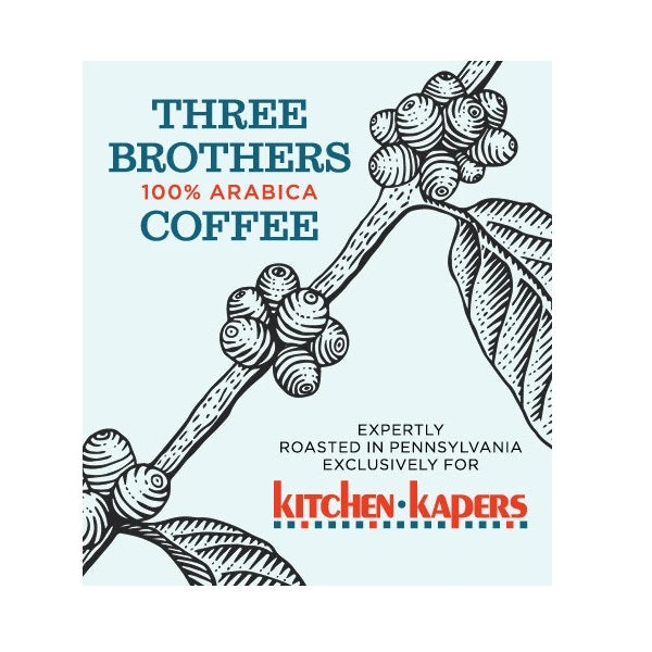 1 Lb Three Brothers Viennese Cinnamon Coffee- Whole Beans