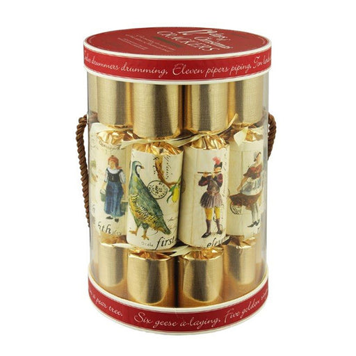 Set of 12 Twelve Days of Christmas Crackers