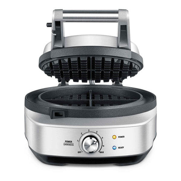 Breville No-Mess Round Waffle Maker