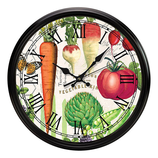 Michel Design Works Vegetable Kingdom Wall Clock