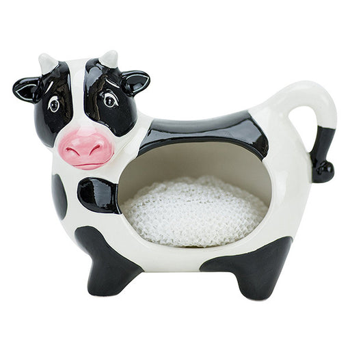 Cow Scrubby Holder