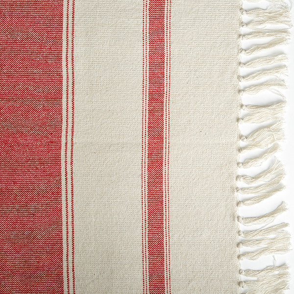 Farm to Table Picnic Throw Red and White Assorted