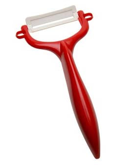 Kyocera Red Horizontal Y Peeler