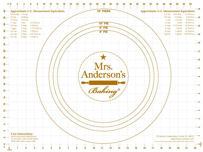 Mrs. Anderson's Pastry Mat