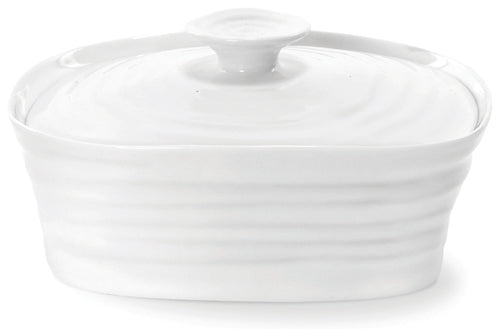 Sophie Conran for Portmeirion: White Butter Dish