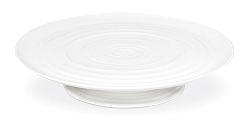 Sophie Conran for Portmeirion: White Footed Cake Plate