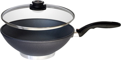 "Swiss Diamond 11"" Round Bottom Wok"