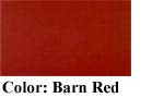 "John Boos Gathering Block 25"" x 24"" x 4"" Barn Red"