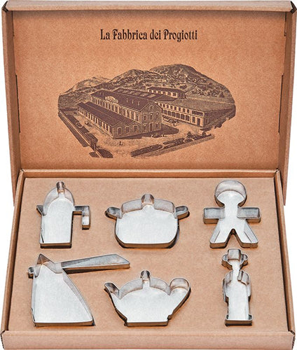 Alessi Set of 6 Cookie Cutters