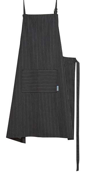 Pinstripe Black Mighty Apron