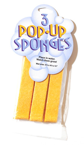 Set of 3 Pop-Up Sponges