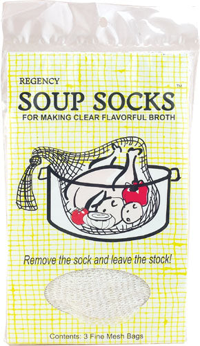 Set of 3 Soup Socks