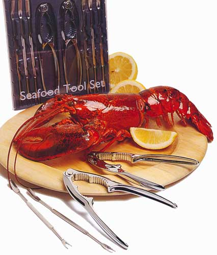 8 Piece Seafood Tool Set