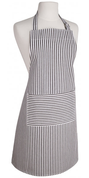Black Stripe Apron