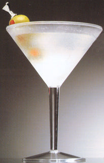 Iced Martini Glass