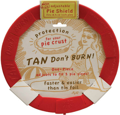 Talisman Designs One-Piece Adjustable Pie Crust Shield