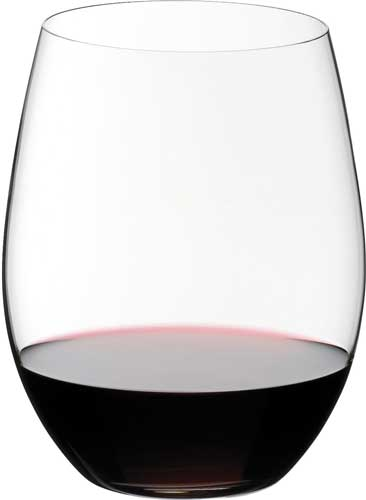 Riedel O Set of 2 Cabernet & Merlot Wine Glasses
