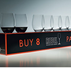 Riedel Pay 6 Get 8 O Cabernet & Merlot Wine Glasses
