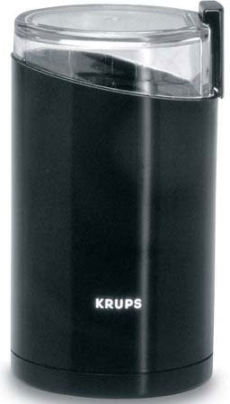 Krups Black Fast Touch Coffee Mill & Flax Seed Grinder