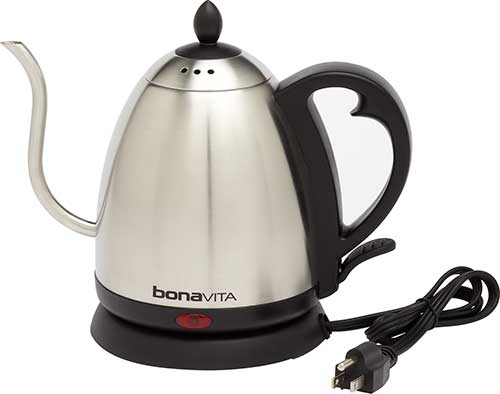 Bonavita 1 Liter Electric Gooseneck Tea Kettle