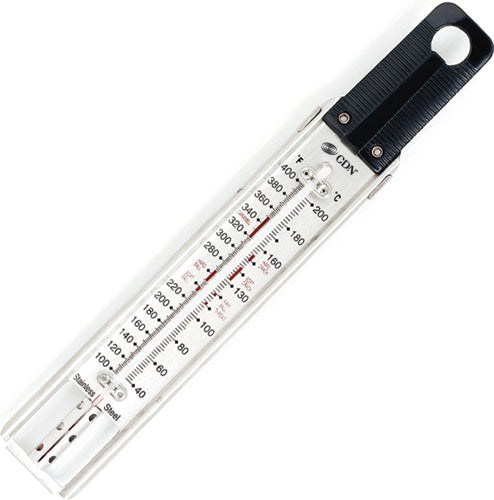 CDN Candy & Deep Fry Ruler Thermometer