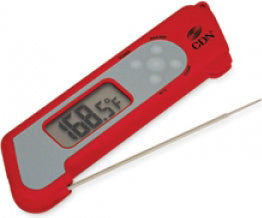CDN Thermo-Probe Thermometer Red