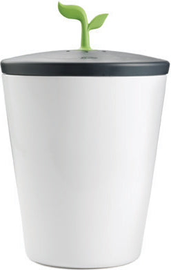 Chef'n Meringue & Black Eco Crock Compost Bin