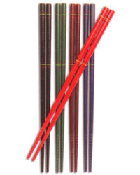 Joyce Chen 5 Pair Colored Chopsticks