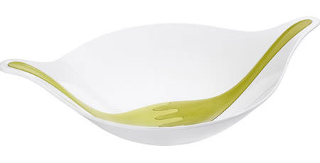 Koziol Leaf Salad Bowl with Servers
