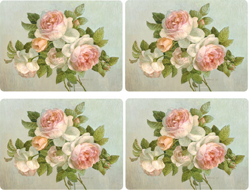 Pimpernel Antique Rose Set of 4 Placemats