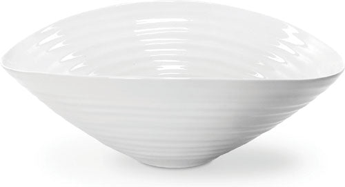 Sophie Conran for Portmeirion: White Salad Bowl 11.25""