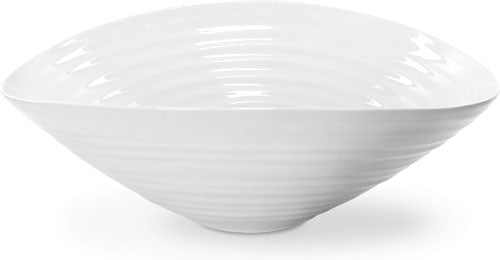 Sophie Conran for Portmeirion White Salad Bowl 9.25 ""