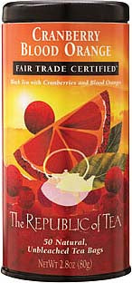 Republic of Tea Cranberry Blood Orange Black Tea