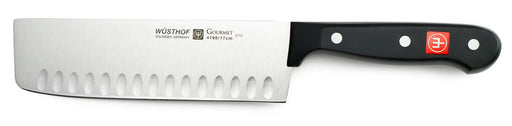 "Wusthof Gourmet 7"" Nakiri Knife Hollow Edge"