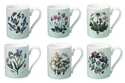 Portmeirion Botanic Garden Coffee Mug 10 oz.