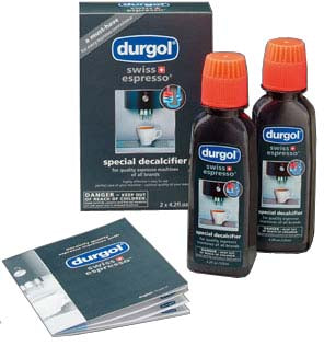 Set of 2 Durgol Swiss Espresso Decalcifier