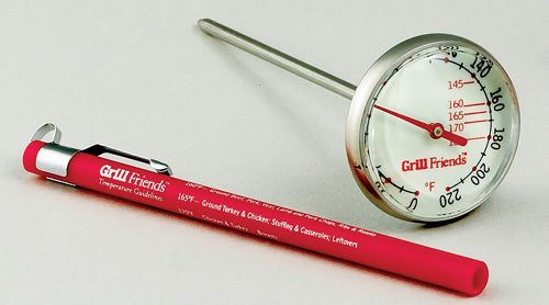 Grill Friends Glow-in-the-Dark Instant Read Thermometer