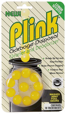 Lemon Plink Garbage Disposal Cleaner & Deodorizer