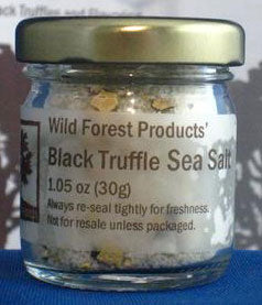 Wild Forest Products Black Truffle Sea Salt