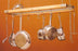 J.K. Adams Oval Wood Ceiling Pot Rack