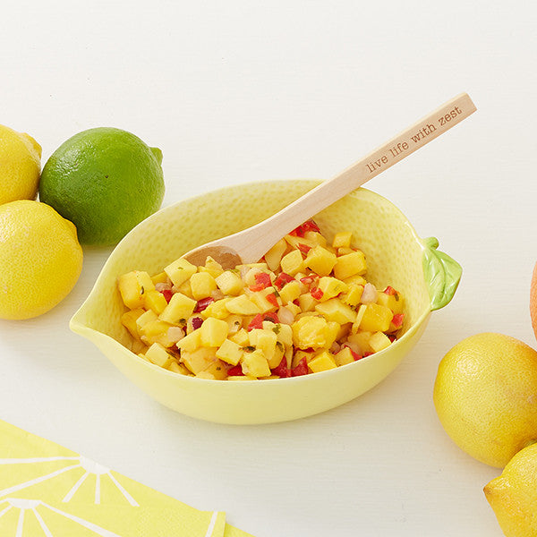 Lemon Bowl and Spoon Set