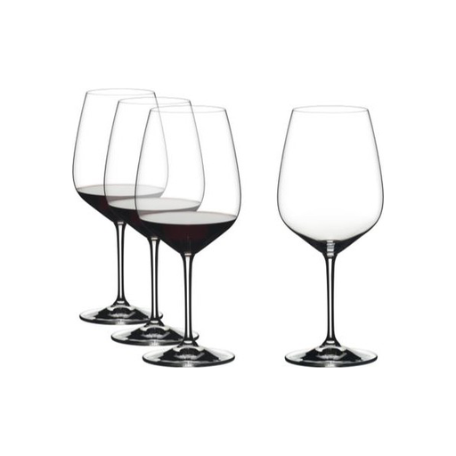 Riedel 4X Red Wine Glasses