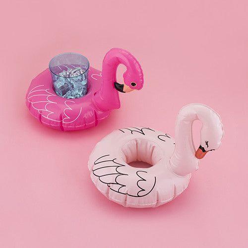 Set of 2 Flamingo Drink Floaties