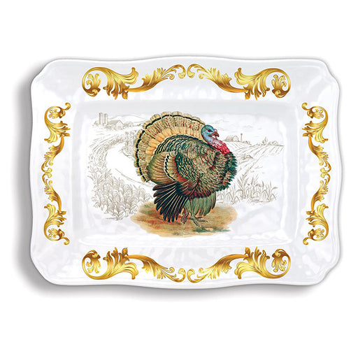 Michel Design Works Fall Harvest Melamine Platter