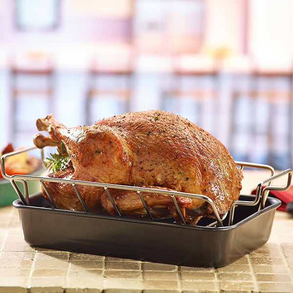 Big Green Egg Stainless Steel Rib & Roast Rack