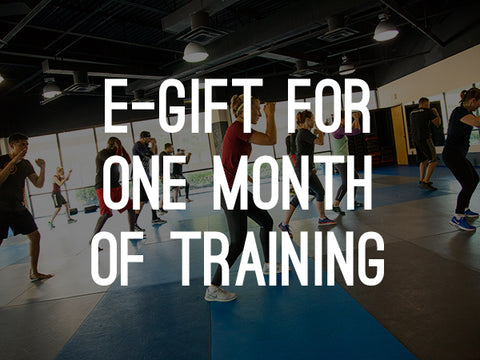 E-Gift: 1 Month of training